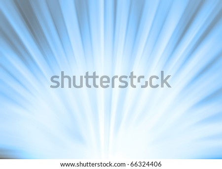Abstract sun rays background in orange color