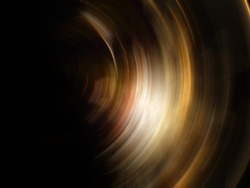Abstract Sunlight, abstract of golden spin for background used