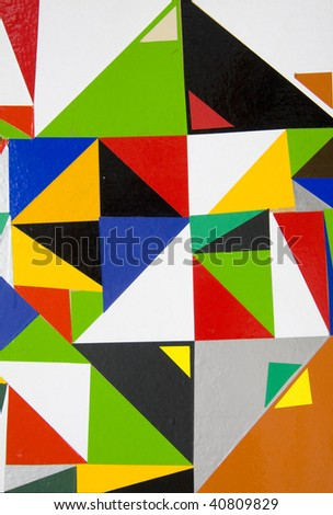 Abstract suprematic background