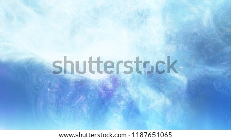 Abstract Surface illustration. Light elegant clean soft background of bright. Minimalism. 3d illustration. Depht of field, blur moving, glitch effects.
