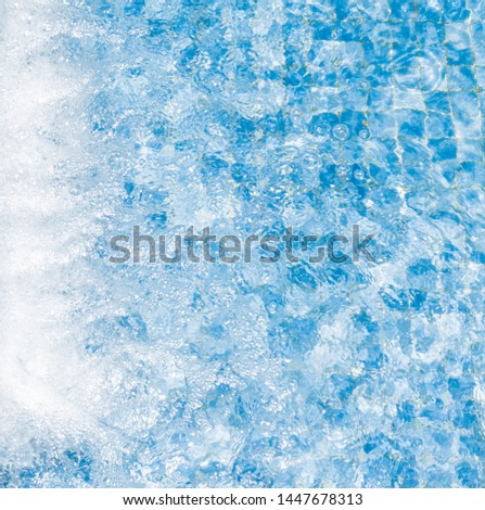 Abstract surface water swimming pool background #1447678313
