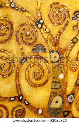 abstract swirl, background