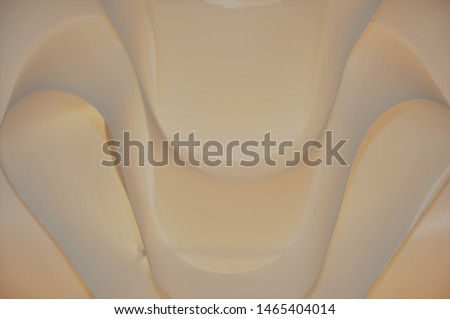 Abstract Taupe Beige light Smooth Curves Background Design on my chandelier #1465404014