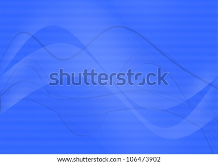 abstract techno background blue colors and lights - stock photo