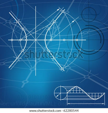 abstract techno background. jpg - stock photo