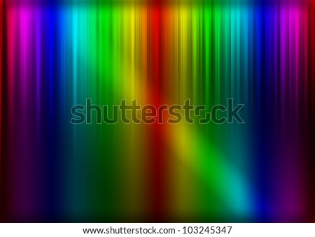 abstract techno background with colors and lights