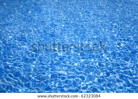 Abstract texture of a swimming pool.