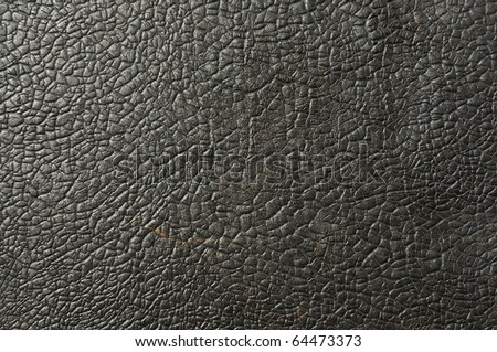 Abstract Texture Of Old And Rough Black Table Tennis Rubber Stock