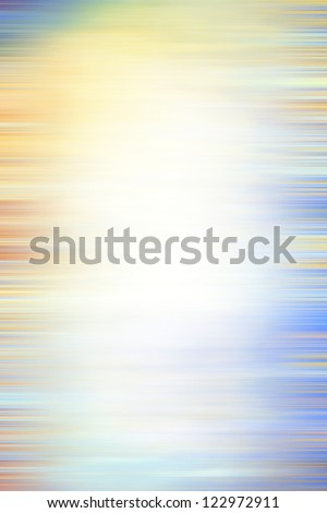Abstract textured background: blue, white, and brown patterns on yellow backdrop. For art texture, grunge design, and vintage paper / border frame
