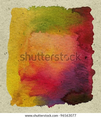 abstract textured  watercolor paint