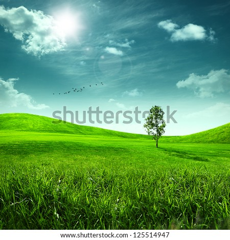 Stock Photo Abstract toon background for your design