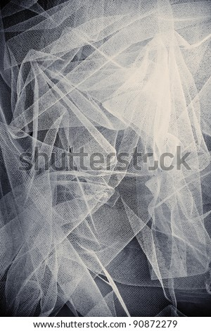 abstract tulle background, studio shot