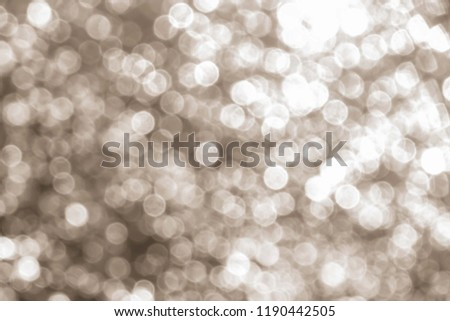 Abstract twinkled bright background with bokeh defocused  lights #1190442505