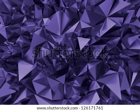 abstract ultra violet crystal background