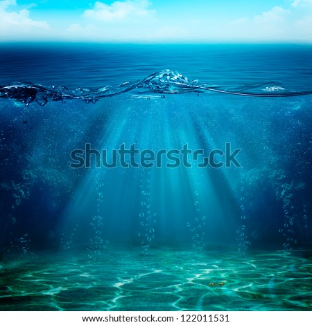 Abstract underwater backgrounds for your design #122011531