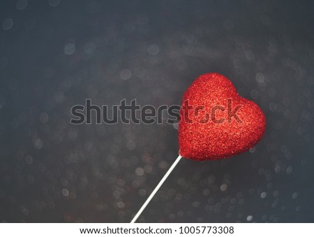 Abstract Valentine's background with a hearts  #1005773308