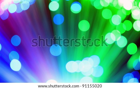 Abstract various color blur dot light background. - stock photo