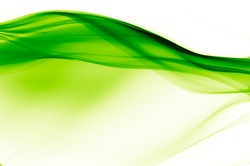abstract vibrant green and white background