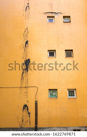 abstract view of some apartment blocks