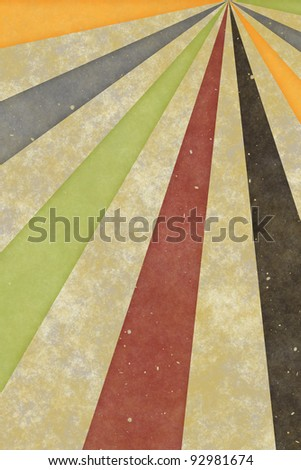 Abstract vintage background of swirling stripes
