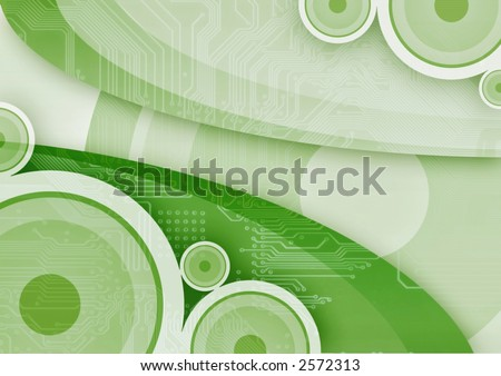 abstract vintage background with digital element