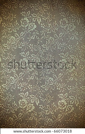 abstract vintage flora pattern for background