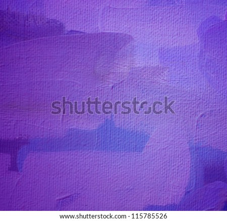 abstract violet painting by oil on a canvas,  illustration, background