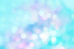 abstract vivid bokeh circles in soft color style background,free Space for text input,concept valentine