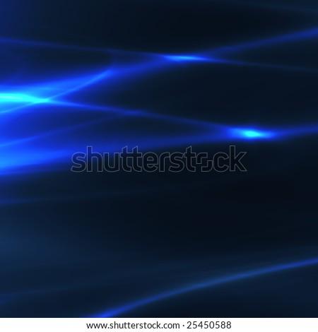 Abstract wallpaper illustration of glowing wavy streaks of light #25450588