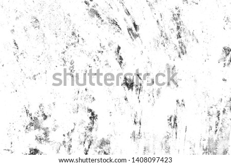 Abstract wallpaper texture background. Black and white pattern of spots, cracks, dots, chips