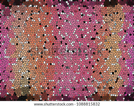 abstract wallpaper | vintage mosaic background | geometric texture for pattern,illustration,graphic,presentation,tile or concept design  #1088815832