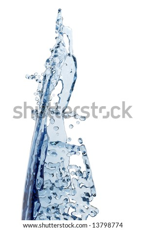 Abstract water, splash and bubble liquid - Shutterstock ID 13798774