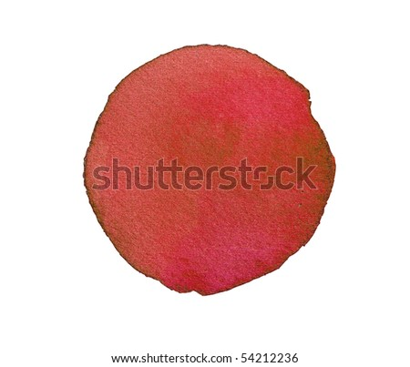 abstract watercolor background design circle