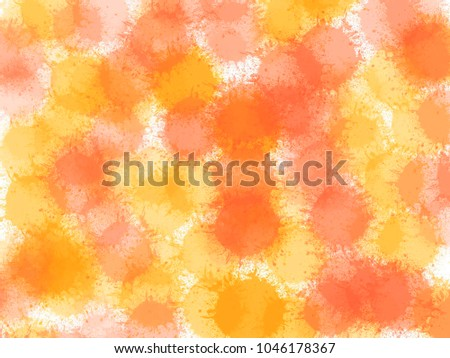 Abstract watercolor background, Digital texture for fabric, book cover, paper, cloths, fashion, printing media, advertisement, banner, card