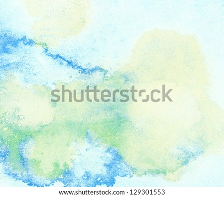 Abstract watercolor background, leaked.