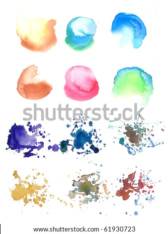 abstract watercolor background paint designs