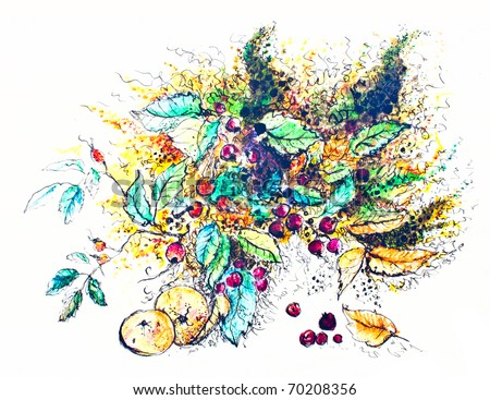 Abstract Watercolor Paintings of Flowers Abstract Watercolor of Flowers