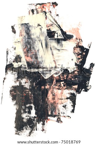 Abstract watercolor on white hand painted by me .  Nice background for your projects.