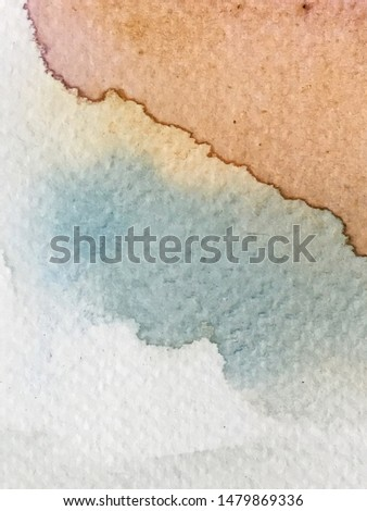 Abstract watercolor texture and background. #1479869336