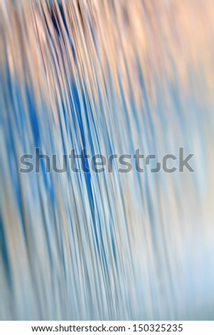 Abstract waterfall background. You can see the footage too! - stock photo