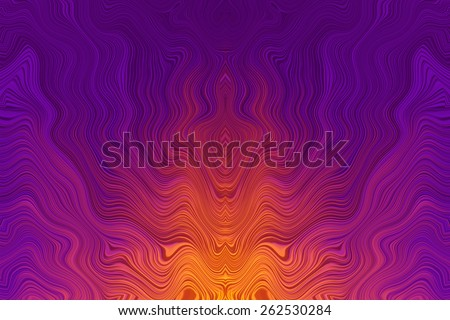 Abstract wave gradient blue pattern design background