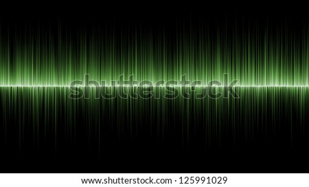 Abstract wave green colours background