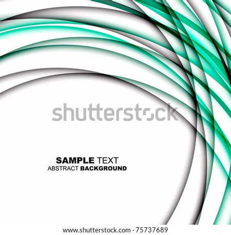 Abstract wave spiral background