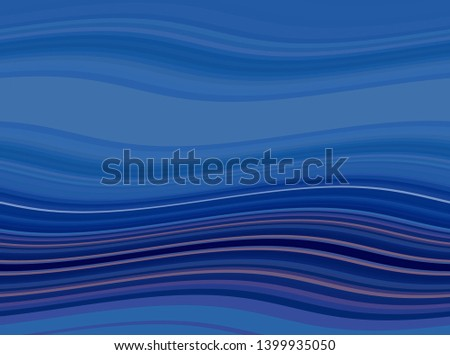 abstract waves background with teal blue, midnight blue and old lavender color. waves can be used for wallpaper, presentation, graphic illustration or texture.