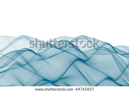 Abstract wavy background with empty space for text