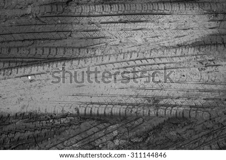 abstract wheel trail background, sweet dreamy, soft focus, black and white #311144846