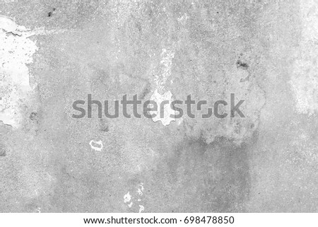 Abstract white and grey cement wall texture and background #698478850