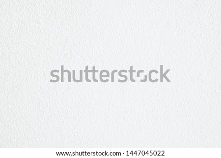 Abstract white cement or concrete wall texture for background. #1447045022