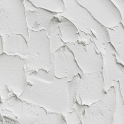 Abstract white drawing trowel stroke background