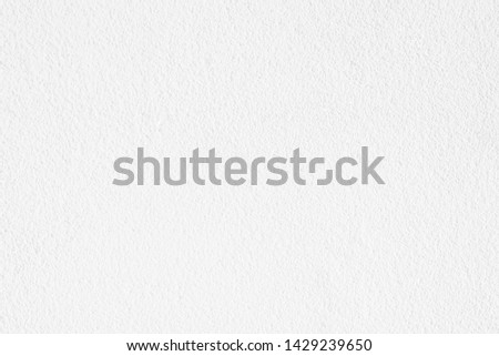 Abstract white paper texture, Cement or concrete wall texture background, Empty space for text.